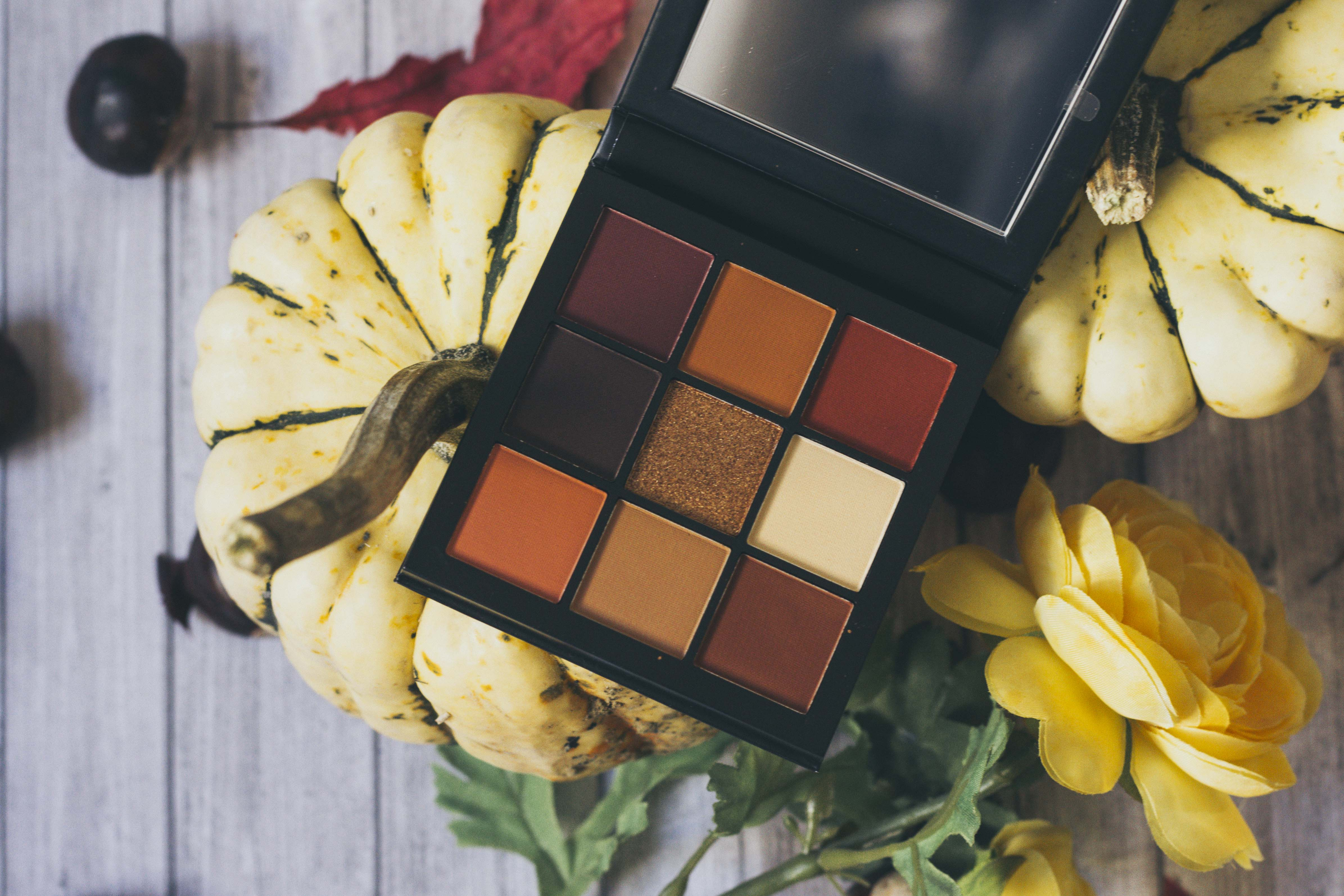 huda beauty warm brow obsessions