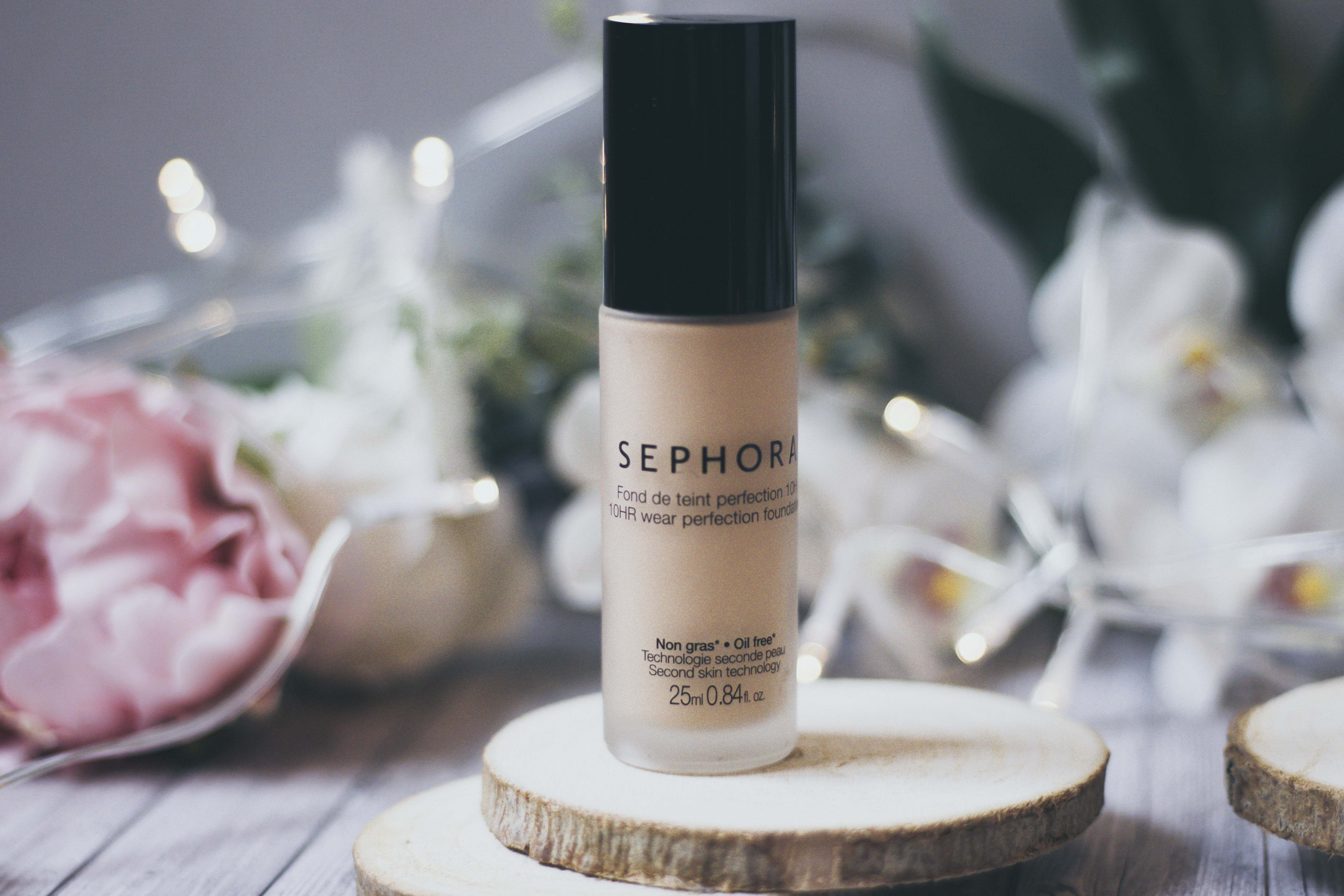 Fond de teint Sephora perfection 10h