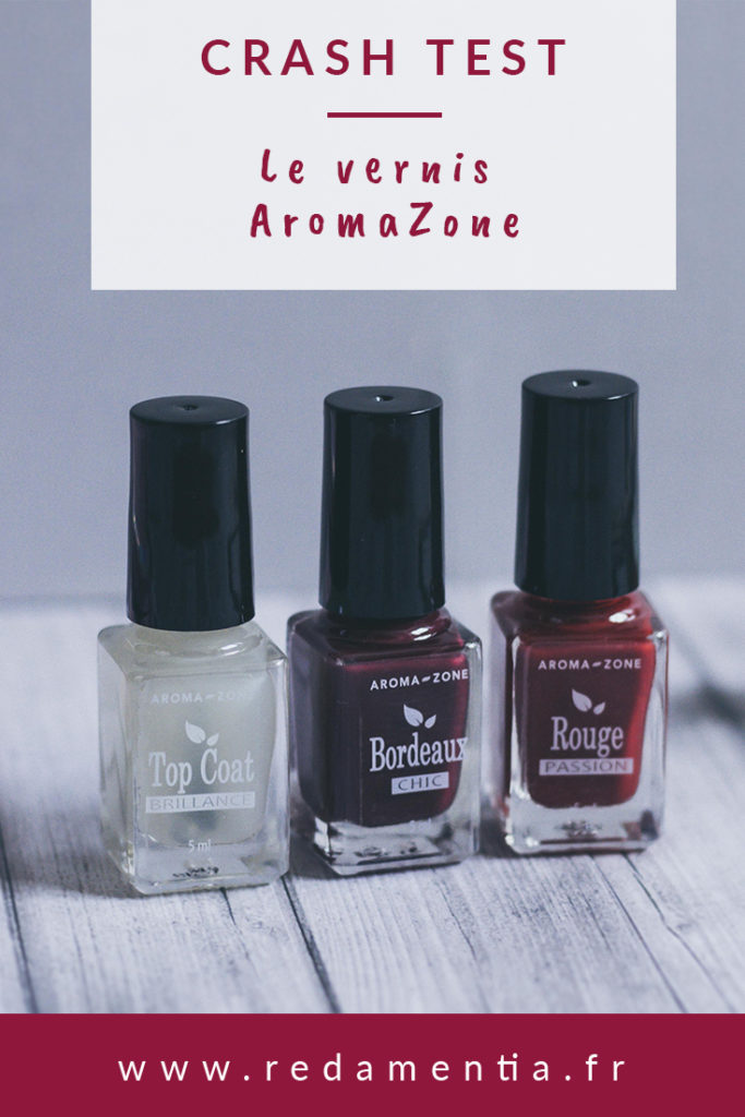 Coffret vernis naturels Aroma Zone Pinterest